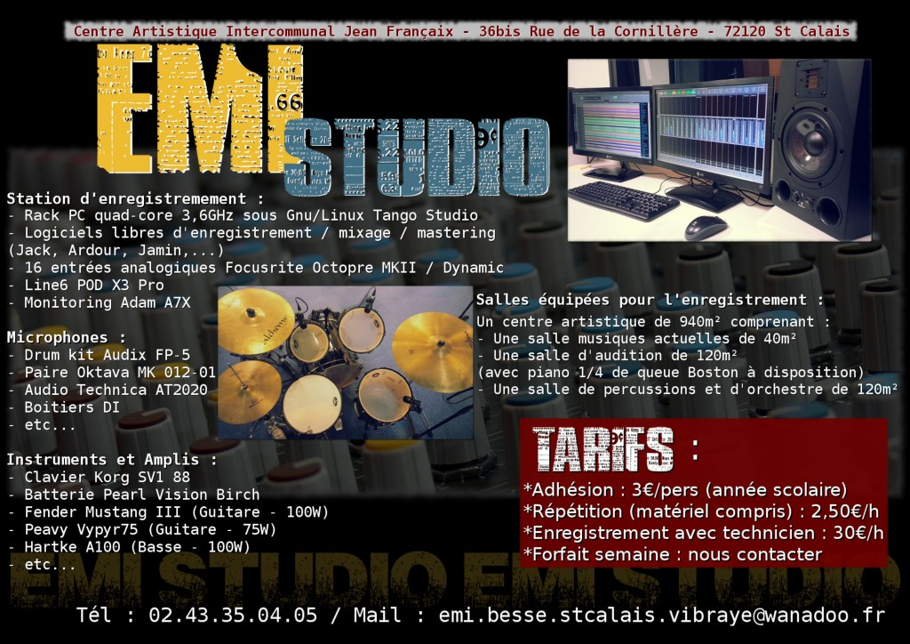 EMI Studio enregistrement